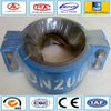 Carbon steel quick locking pipe clamp joints