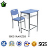 Cheap price list of school furniture library plastic chairs desk