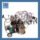 dual bucket milking machine
