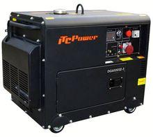 5kw Silent Diesel electric power generator supplier of power