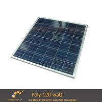 Poly Crystalline Silicon Solar PV Module 120WP