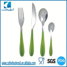 Adorable, supportable, classy Cathylin bamboo handled flatware