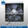 Impianto di perforazione a rotazione radiatori in sistema di raffreddamento per xcmg sany zoomline lovol, radiatore in alluminio auto