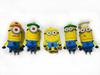 Funny cartoon pendrive usb stick,minion usb flash drive