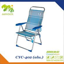 Hot sale folding reclining beach chair CYC402
