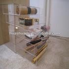 3 and 5 Drawer Hand Made Kardashians Acrylic Portable Make Up Jewellery Case Box
