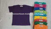 Newest fashion wholesale kid tshirt