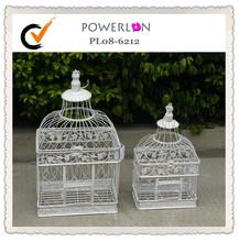 Vintage metal decorative wedding birdcage (2pcs/Set)