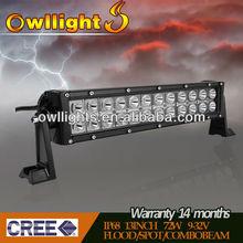 "13.5"" Epistar LED Driving Light Bar, 72w Dual Row LED Light Bar, Offroad LED Light Bar 4x4 Auto LED Spotlight Bar"