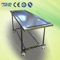 Thr-105 funeral de acero inoxidable de embalsamamiento tabla