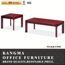 mdf leg wooden outdoor tea table set