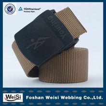 China foshan factory wholesale men's military canvas belt