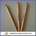 De promoción eco- ambiente impreso pluma de madera