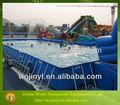 Alta qualidade ao ar livre retangular aço piscina frame