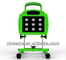 12w Rechargeable led spotlight work light 2014 new model