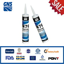 Waterproof structural silicone adhesive