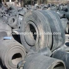 used cotton rubber conveyor belt/rubber belt supplier