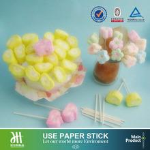 China supplies candy floss paper sticks