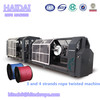 3 STRANDS TWISTED PLASTIC PP ROPE MAKING MACHINE FOR SALE /Casey:hitech6@hitechrope.com