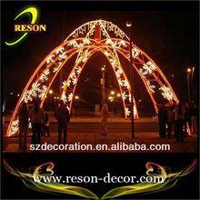 led landscape lighting lever arch light commercial holiday decor