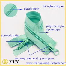 high quality 3# nylon zipper long chain nylon zipper nylon zipper rolls