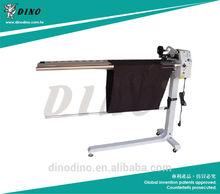 LU-966 New auto speed change piping strip cutting machine/ fabric strip cutting machine/ cloth strip cutting machine