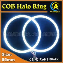 AC/DC 10~30V 65mm COB SMD angel eye headlight halo ring light