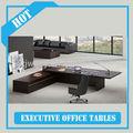 2014 noticias de diseño de madera wenge chapa de director de la oficina de escritorio/escritorio ejecutivo