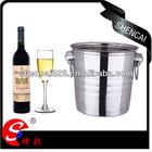 4L,5L,8L Stainless Steel Champagne Bucket / Wine Cooler / Ice Bucket / Wine Bucket