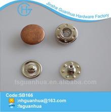 Boton 12.5mm broche para la ropa