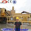 YHZS35 Small mobile concrete plant concrete batching plant price