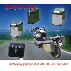 Motocycle ALUMINUM PANNIER CASE 4 types