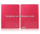 Ulike fashion new design pu leather case for ipad3 tab case