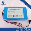 36V 10Ah Lithium ion electric bike battery pack