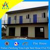 economic flat roof modular homes prefab house(CHYT-F3048)