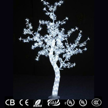 LED artificial led crystal tree lights for public house and wineshop decorations