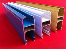 6063 alloy excellent quality extruded aluminium profile to Ghana window and door materials made in China