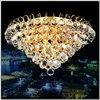 Crystal Material Chrom Surface Chrome Lamp Shade E14 Lamp Holder Chandelier Lamp MD8527 L6