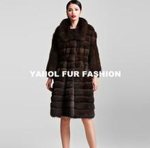 mk14105 2015 new real beautiful marten fur coat