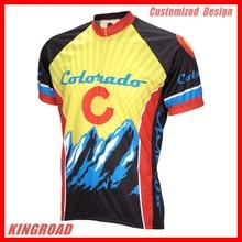 Good Quality Custom Design Cycling Jersey and Bib Shorts