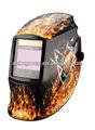 Oem sexy girl abziehbild große Sichtbereich laser Oxyfuel gas-plasma- lichtbogenschweißen auto schweißfilter maske