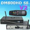 E motherbaord sim2.2 DM 800HD SE V2 Newest Tv Decoder DM800 HD SE V2 wifi Digital Linux satellite receiver DM800HD SE V2