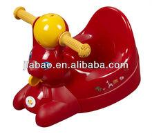 Plástico animal bebê vivo aprende a boneca potty e produto do bebê