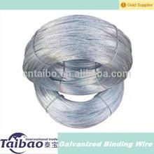 Calibre 22 de acero de alambre galvanizado de China