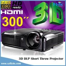 4500 ansi Lumens Full hd education use 1080p Short throw projector
