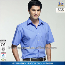 Mens Business Shirt SRM-F-A104,Long Sleeve,Moisture, Perspiration And Breathable