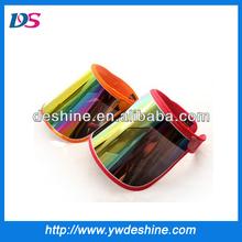 wholesale uv plastic high quality sun visor caps MZ408