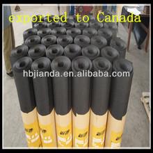 Black building paper and roofing felt bitumen roll ASTM D226/D4869 felt paper