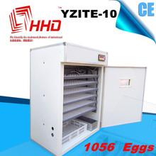 El mejor vendedor de gran capacidad ce incubadora de codorniz con el certificado del ce yzite- 10