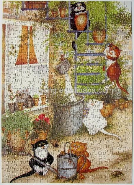 เข้ามาเลี้ยงเด็กกันเถอะ...!! (ตอน 2) 2015_The_Cat_Secret_Garden_1000_pieces